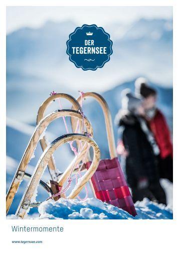 Wintermomente am Tegernsee