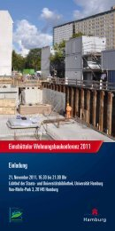 Eimsbütteler Wohnungsbaukonferenz 2011 Einladung - luchterhandt