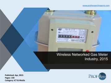 Wireless Networked Gas Meter Industry, 2015