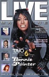 LIVE Magazine Interviews Bonnie Pointer