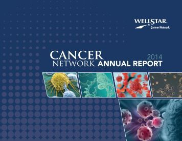 WellStar Cancer Network 2014 Annual Report