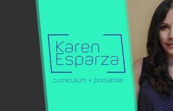 Karen Esparza Curriculum + Portafolio