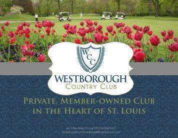 Westborough Membership Brochure