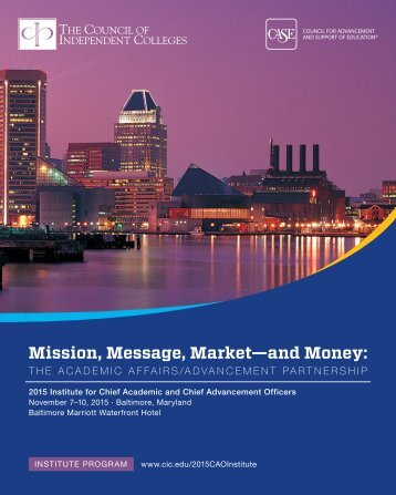 Mission Message Market—and Money
