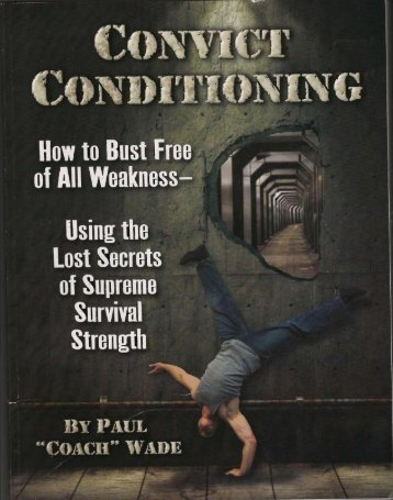 Convict Conditioning - Paul Wade