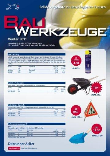 Solide Angebote zu unschlagbaren Preisen Winter 2011