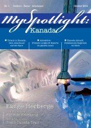 MySpotlight Kanada #1 Okt 2014