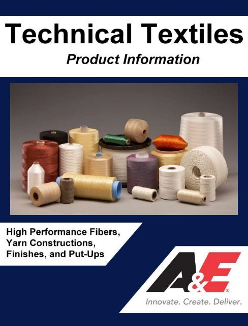 A E Technical Textile Product Information