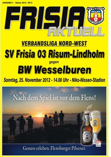 Nr. 9 - SV Frisia 03 Risum-Lindholm eV