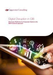 Digital Disruption in CIB