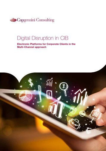 Digital Disruption in CIB