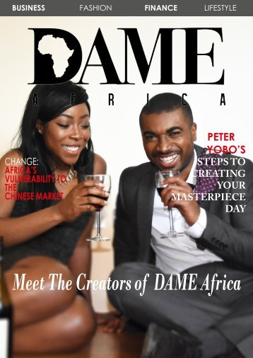 DAME Africa Magazine - Business and Finance