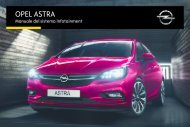 Opel Nuova Astra Infotainment Manual MY 16.0 - Nuova Astra Infotainment Manual MY 16.0 manuale