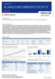 ALLIANZ EURO EMPRUNTS D'ETAT IC