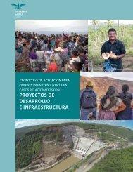 proyectos de desarrollo e infraestructura