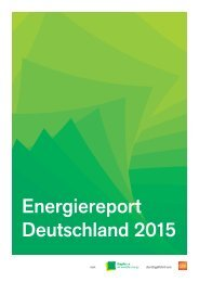 Energiereport Deutschland 2015