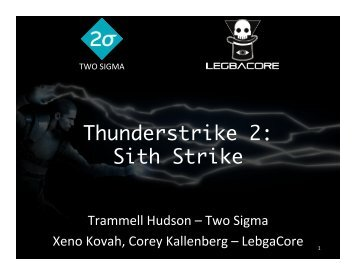 Thunderstrike 2 Sith Strike