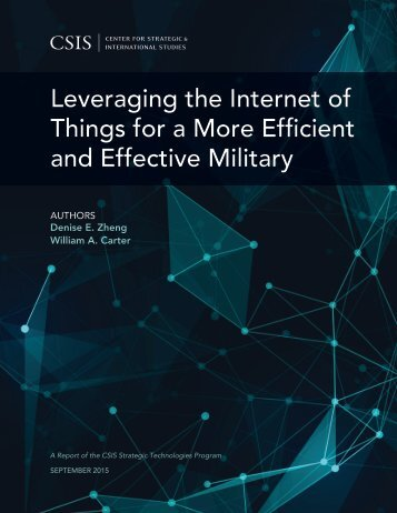 Leveraging the Internet of Things for a More Efficient and Effective Military