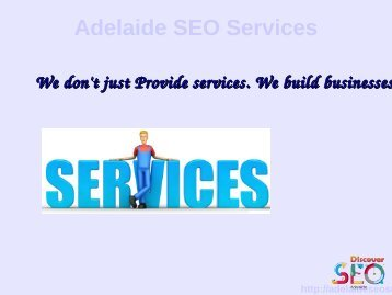 Discover SEO services company Adelaide