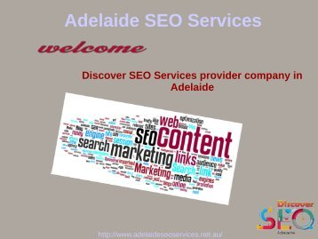 Discover internet marketing services Adelaide