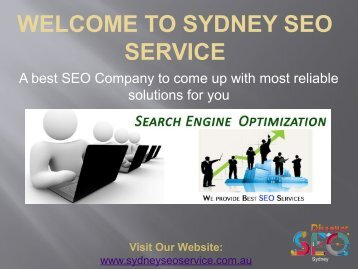 SEO Companies Sydney | SEO Expert Sydney