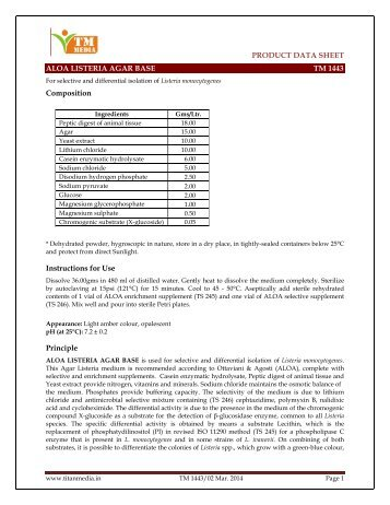 PRODUCT DATA SHEET www.titanmedia.in Page 1 ALOA ...