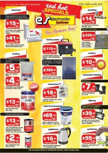 Electrosales Catalogue