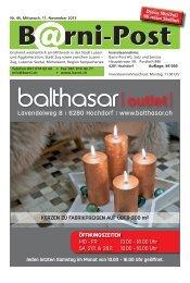 Barni-Post, KW 46, 11. November 2015