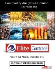 Commodity Analysis & Opinion