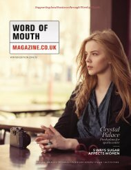 Word of Mouth Magazine Winter 2014 Edition