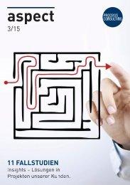 aspect 3-15 Insights - Lösungen in Projekten unserer Kunden