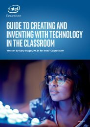 GUIDE TO CREATING AND INVENTING WITH TECHNOLOGY IN THE CLASSROOM