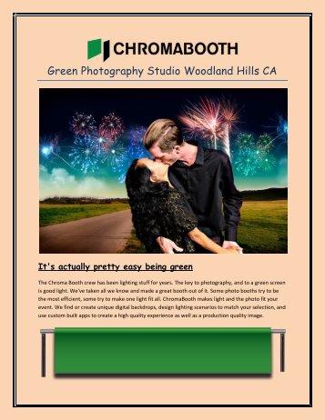 Green Photography Studio Woodland Hills CA
