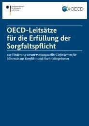 OECD-Leitsätze für die Erfüllung der Sorgfaltspflicht