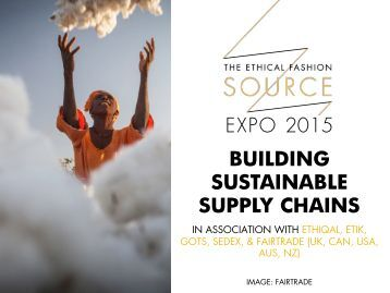Expo 2015 Building Sustainable Supply Chains