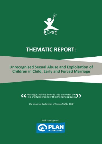 THEMATIC REPORT