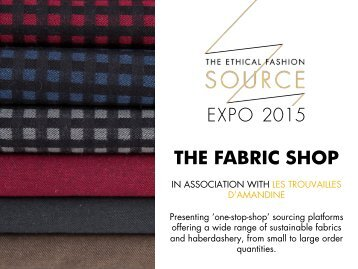 Expo 2015 - The Fabric Shop