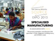 Expo 2015 - Specialised Manufacturing