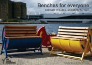 Benches for everyone
