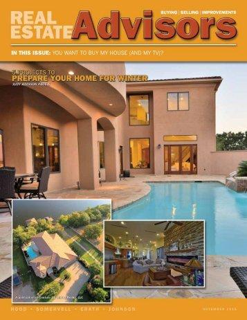 The Real Estate Advisors Magazine - November 2015