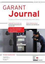 GARANT Journal 03/2015