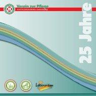 Verein zur Pflege - Chronik zum 25jährigen Jubiläum
