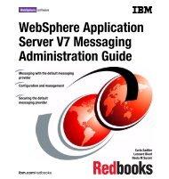 WebSphere Application Server V7 Messaging ... - IBM Redbooks