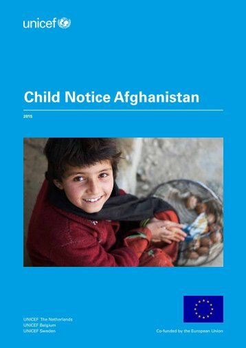 Child Notice Afghanistan