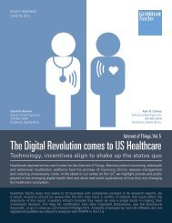 The Digital Revolution comes to US Healthcare