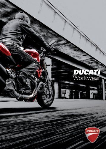 Ducati Workwear - Catalogo 2015