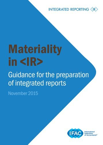 Materiality in <IR>