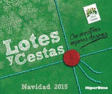 Catálogo_Lotes y Cestas_HiperDino_2015