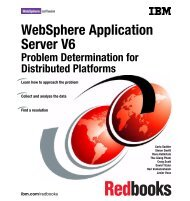 WebSphere Application Server V6 Problem ... - IBM Redbooks