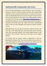 Jacksonville Limousine Services